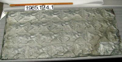 Tile, Pressed Metal Ceiling