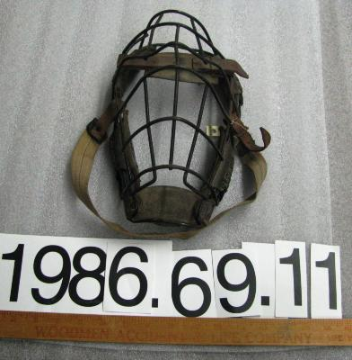 Mask, Catcher's