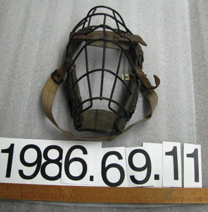Mask, Catcher's