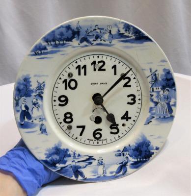 Clock, Plate