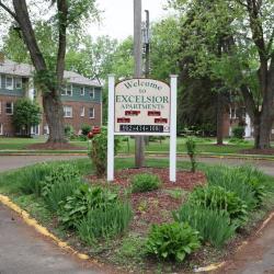 Linden St 500 sign