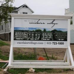 Village Ln sign