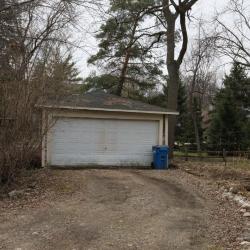 West Lake St 211 garage