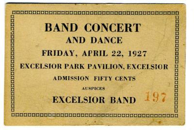 Ticket, Admission