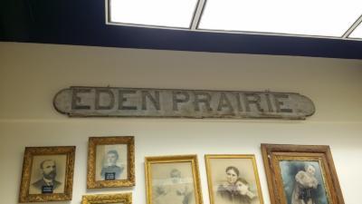 Eden Prairie Depot Sign