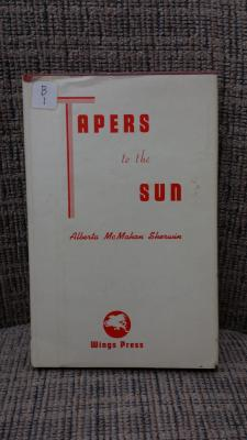 Helen Goodrich Mastin Book of Verse Tapers in the Sun