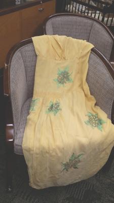 Zaic gold cocktail dress
